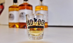 Bad Dog Distillery: Distillery Tour and Alcohol Gift Package for One or Two at Bad Dog Distillery (Up to 48% Off)
