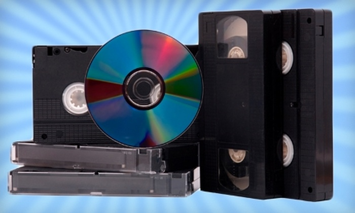 Digital Pickle: $39 for $90 Worth of VHS to DVD Conversion, Photo Preservation, and More from Digital Pickle