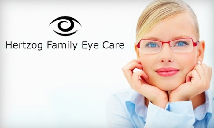 Hertzog Family Eye Care - Cabot: $65 for a Comprehensive Eye Exam and a $100 Credit Toward Lenses and Frames at Hertzog Family Eye Care in Cabot ($200 Value)
