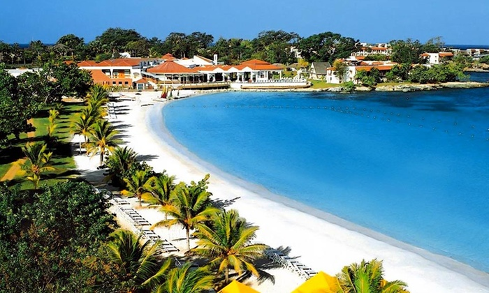 Grand Lido Negril Resort & Spa Vacation with Airfare from Vacation Express - Grand Lido Negril: All-Inclusive Grand Lido Negril Stay with Airfare. Includes Taxes and Fees. Price/Person Based on Double Occupancy.
