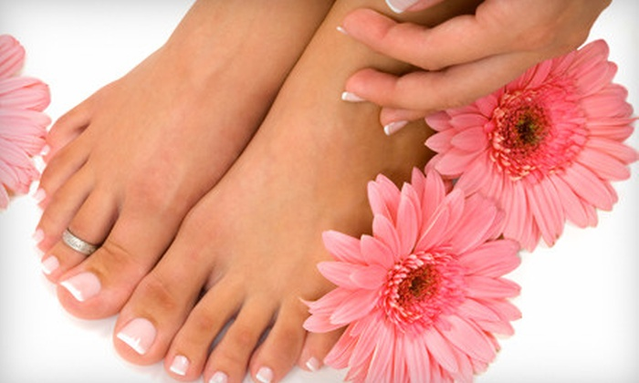 Nails by Mary - Ontario: Mani-Pedi Packages with Shellac Mani Option at Nails by Mary in Rancho Cucamonga (Up to 55% Off)