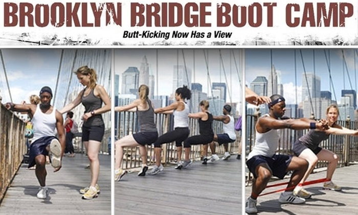 Brooklyn Bridge Boot Camp - Multiple Locations: $45 for Five Classes at Brooklyn Bridge Boot Camp ($90 Value)