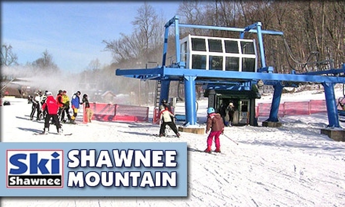 Shawnee Mountain Ski Area - Philadelphia: $36 for a Lift Ticket at Shawnee Mountain Ski Resort