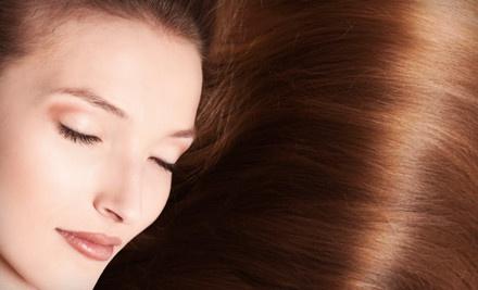$300 Toward a Hair-Straightening Treatment; Anti-Frizz by Yuko, Zerran RealLisse, or Brazilian Blowout - Amy's Salon Services in Seattle