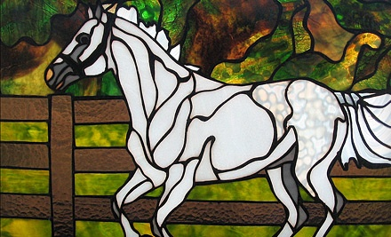 The Laurel Leaf: 4-Hour Intro to Stained Glass Workshop for One - The Laurel Leaf in Franklin