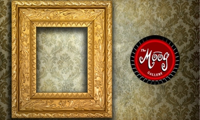 The Moog Gallery - Lake Claire: $35 for $85 Worth of Custom Framing at The Moog Gallery
