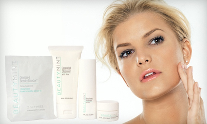 Anti-Aging Skincare Kit: $25 for a BeautyMint Anti-Aging Skincare Kit with a BeautyMint Voucher. Shipping Included ($97.50 Value).