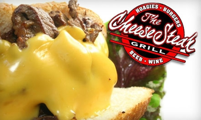 The CheeseSteak Grill - Loma Alta: $9 for $20 Worth of Authentic Philly Cheesesteaks, Hoagies, Microbrews, and More at The CheeseSteak Grill in Oceanside