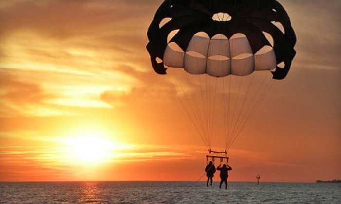 Estero Island Parasail - Multiple Locations: $75 for a Magnum Parasail Flight for Two from Estero Island Parasail ($150 Value)