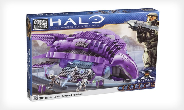 """Mega Bloks """"Halo"""" Covenant Phantom: $49 for a Mega Bloks Buildable """"Halo"""" Covenant Phantom Aircraft ($79.99 List Price). Free Shipping."""