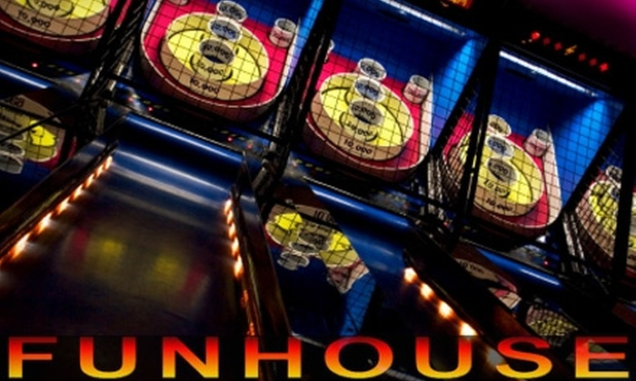 Fun House - Riverwalk Crossing: $4 for $15 Worth of Game Tokens at Fun House