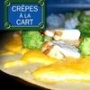 $7 for Crêpes at Crêpes à la Cart