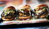 FatBurger - The Strip: Pitchers of Mimosas or HouseMargaritas with Two or Four Savory Items at FatBurger (Up to 58% Off)