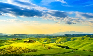 ✈ Sweepstakes to Win 5-Night Tuscany Vacation with Airfare at Tuscan Villa Vacation Sweepstakes, plus 6.0% Cash Back from Ebates.