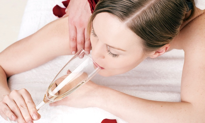 Pure Salon & Spa - Dracut: Pure Nature Facial or Body Scrub with Vichy Shower, Massage, or Facial at Pure Salon & Spa (Up to 50% Off)