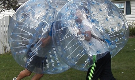 $350 for $500 Worth of Soccer  Motor City Bubble Soccer