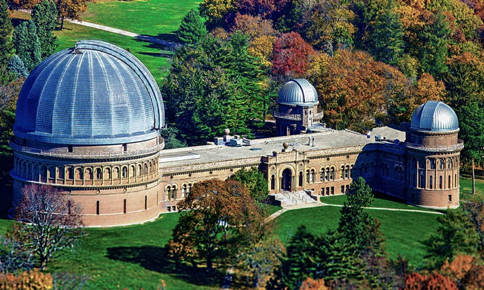 Yerkes Observatory - Williams Bay: Weekday Daytime Tours for Two, Four, or Six of Yerkes Observatory (Up to 48% Off)
