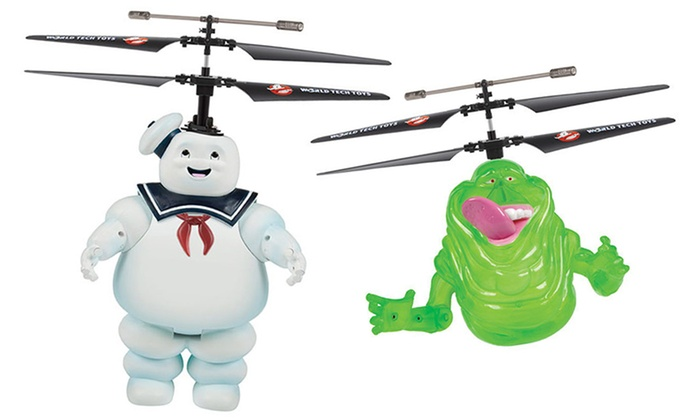 Ghostbusters Remote Control Flying Figurines: Ghostbusters Remote Control Flying Figurines