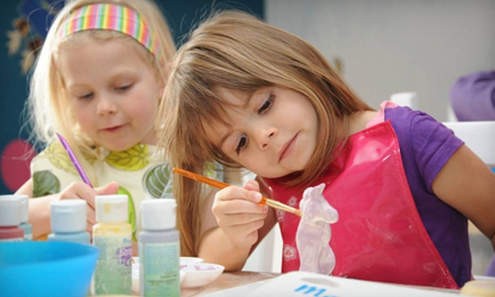 Create Hands On - Dartmouth: Pottery Painting for One, Two, or Four at Create Hands On (70% Off)