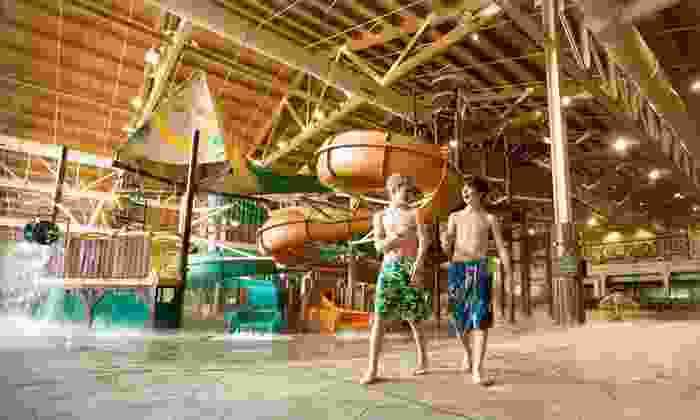 Great Wolf Lodge Grand Mound - Grand Mound, WA: 1- or 2-Night Stay with Waterpark Passes and Restaurant Credit at Great Wolf Lodge Grand Mound in Grand Mound, WA