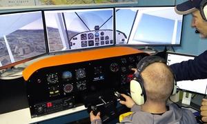 AERO CLUB CASALE MONFERRATO: Un'ora di volo con simulatore professionale o corso di ambientamento al volo