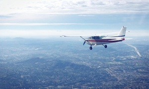 Hemet-Ryan Flight School: 30-Minute Discovery Flight for One or Up to Three at Hemet-Ryan Flight Training (Up to 33% Off)