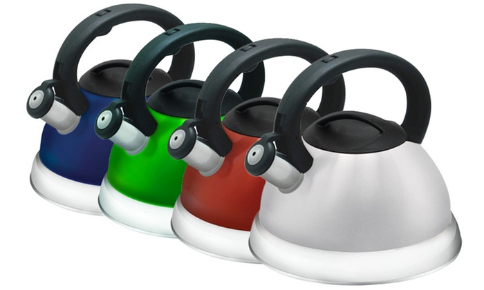 3-Liter Stainless Steel Whistling Tea Kettles : 3-Liter Stainless Steel Whistling Tea Kettles. Multiple Colors Available. Free Returns.
