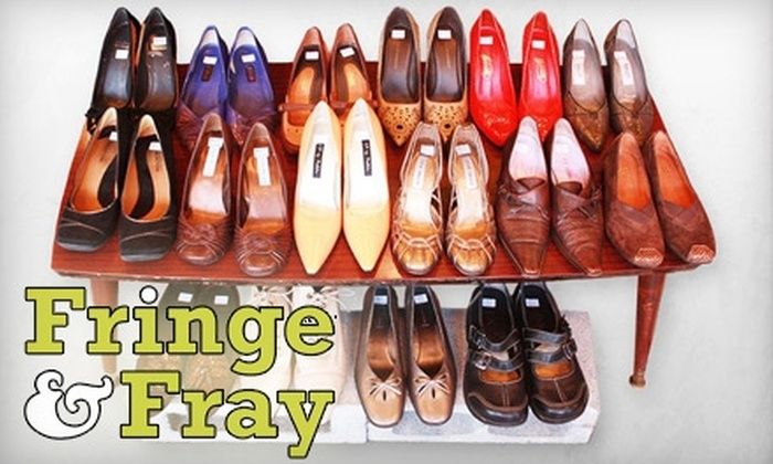 Fringe and Fray - Riverside: $12 for $25 of Resale Clothing and Home-Décor at Fringe & Fray