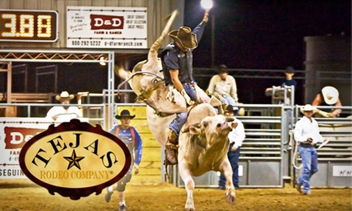 Tejas Rodeo  - Comal North: $5 for One Adult-Admission Ticket to Tejas Rodeo