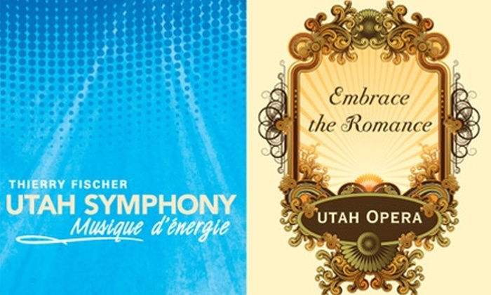 Utah Symphony | Utah Opera  - Rio Grande: $20 for Two Tickets to a Utah Symphony or Utah Opera Performance (Up to $106 Value)