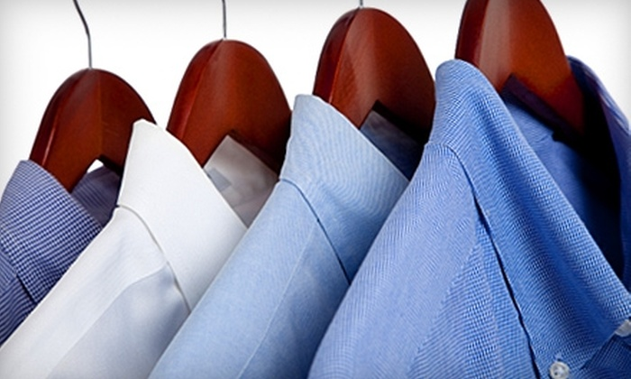 Captain Dry Clean - Multiple Locations: $12 for $25 Worth of Dry Cleaning and Delivery Service at Captain Dry Clean in Ewing