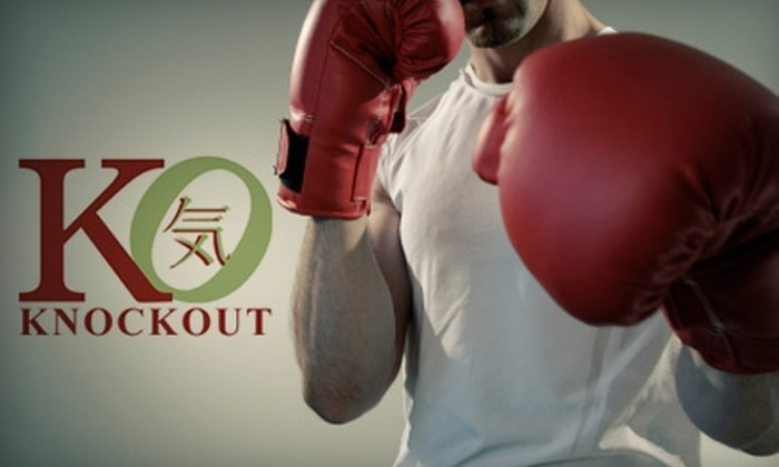 Knockout Boxing & Fitness - El Segundo: $15 for Four Drop-In Visits at Knockout Boxing & Fitness in El Segundo ($60 Value)