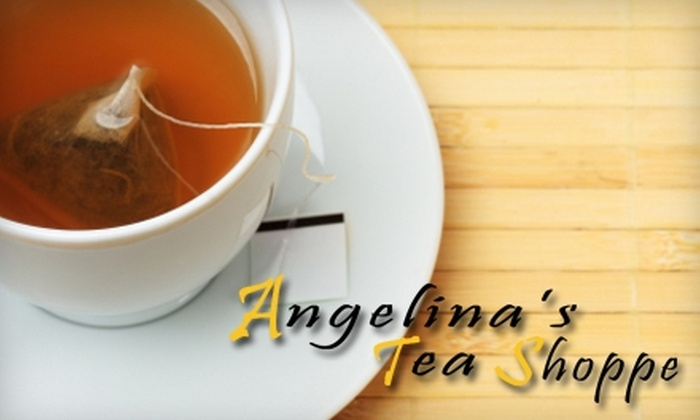 Angelina's Tea Shoppe - Winston-Salem: $7 for $15 Worth of Tea and More at Angelina's Tea Shoppe in Winston-Salem