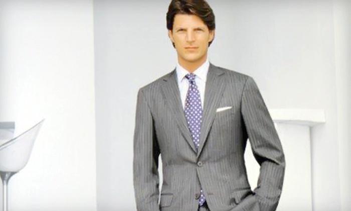 Lombardo Custom Apparel - Far North Dallas: $650 for a Complete Custom Suit at Lombardo Custom Apparel ($1,495 Value)