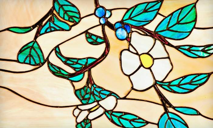 Verite Stained Glass - Bretton Woods: $89 for 24 Hours Worth of Stained-Glass Classes with a Take-Home Christmas Ornament at Verite Stained Glass in Avon ($180 Value)