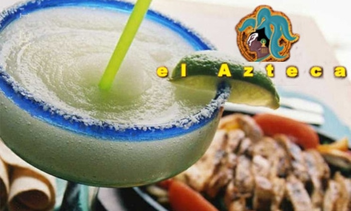 el Azteca Restaurant - Northside: $10 for $25 Worth of Authentic Mexican Fare and Drinks at el Azteca Restaurant