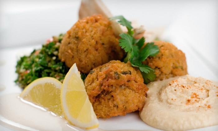 Kababji Lebanese Cuisine - Dartmouth: Lebanese Dinner at Kababji Lebanese Cuisine (52% Off). Two Options Available.