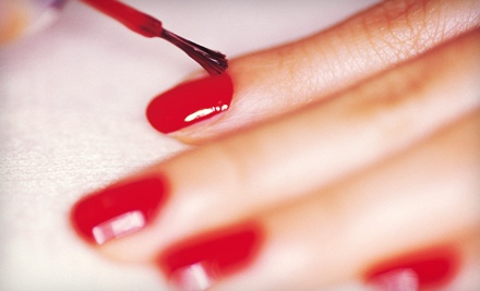 1 Waterless Shellac Manicure (a $30 value)  - At Your Fingertips Nail Salon in Canton