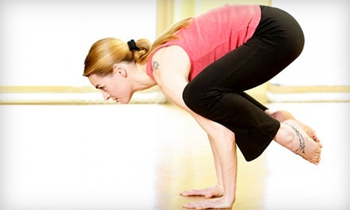 Dallas Yoga Center - Oak Lawn: $25 for One Month of Unlimited Yoga at Dallas Yoga Center ($150 Value)