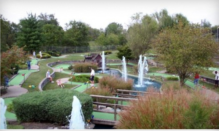 Drakes Creek Activity Center - Hendersonville: $14 for One Round of Mini Golf for Four at Drakes Creek Activity Center (Up to $28 Value)