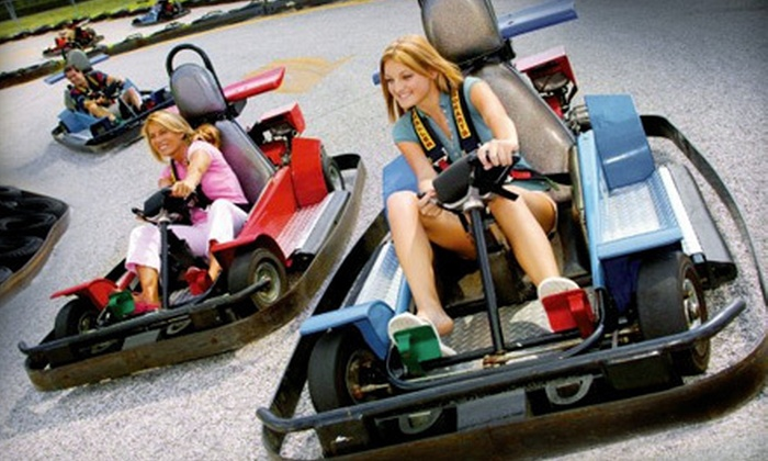 Mountasia Houston - Willowbrook: Day of Unlimited Go-Karting, Bumper Boating, and Miniature Golf for Two or Four at Mountasia Houston (Up to 51% Off)