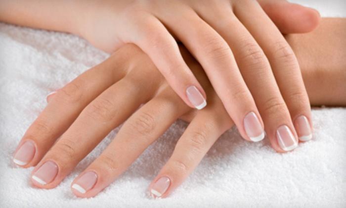 Nails by Alfa - Far North Central: Shellac Manicure or Shellac Pedicure at Nails by Alfa (Half Off)