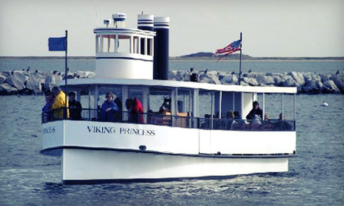 Viking Princess Cruises - Provincetown: 90-Minute Sunset Cruise for Two or Four from Viking Princess Cruises in Provincetown (Up to 55% Off)
