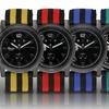 Geneva Platinum Contempo Collection Men's Watches