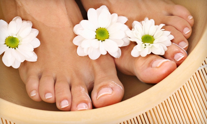 Nourishing Journey - Baltimore: Ionic-Footbath Packages or Massage at Nourishing Journey in Columbia (Up to 54% Off). Four Options Available