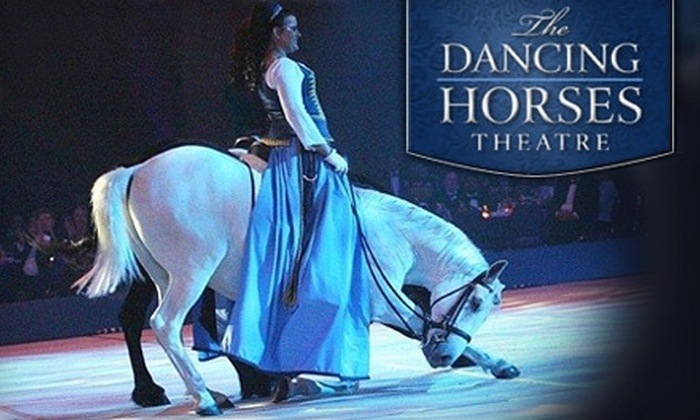 The Dancing Horses Theatre - Delavan: $35 for Two Adult Tickets and Backstage Tour at The Dancing Horses Theatre in Delavan ($70 Value). Choose from 20 Dates.