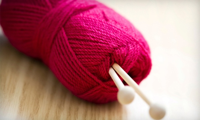 True Blewe Yarns & More - Fourth Ward: Knitting Classes, Supplies, and Crafts at True Blewe Yarns & More (Up to 58% Off). Five Options Available.