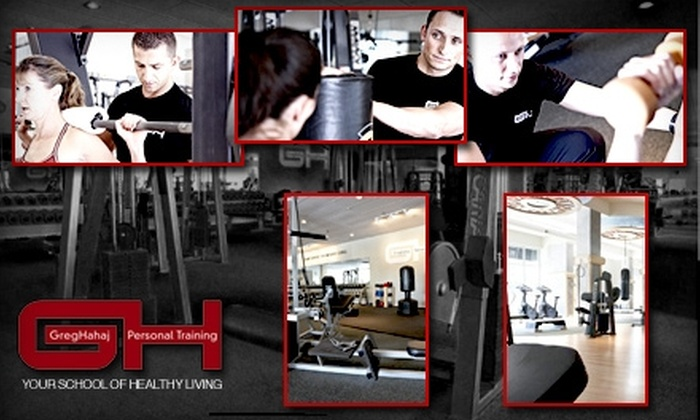 GH School for Healthy Living - West Town: $50 For Two Personal Training Sessions and a Fitness Assessment at GH School for Healthy Living ($170 Value). Buy Here for the Bucktown Location. See Below for Glenview Location.