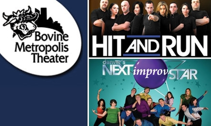 Bovine Metropolis Theater - Central Business District:  $16 for Two Tickets to One of Two Shows at Bovine Metropolis ($32 Value)