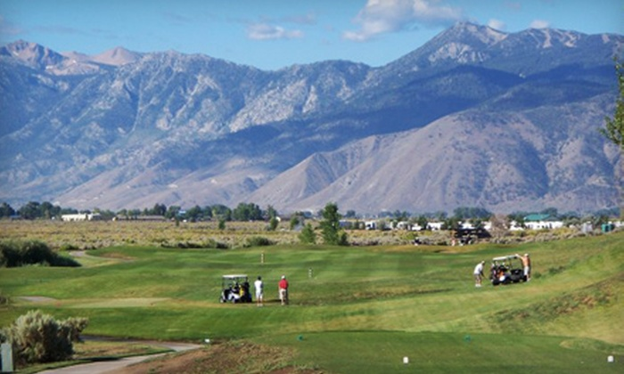 Sunridge Golf Club - Sunridge Golf Club: Golf Outing for Two or 5 or 10 Buckets of Driving-Range Balls at Sunridge Golf Club in Carson City (Up to 55% Off)